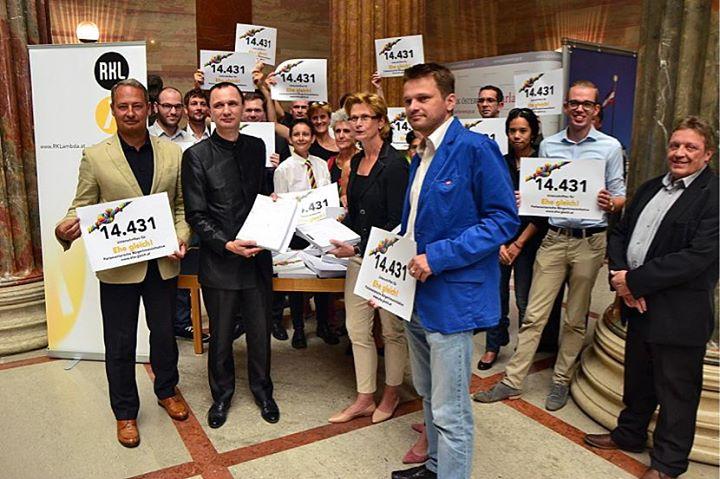 Bürgerinitiative Ehe Gleich! 24.8.2015