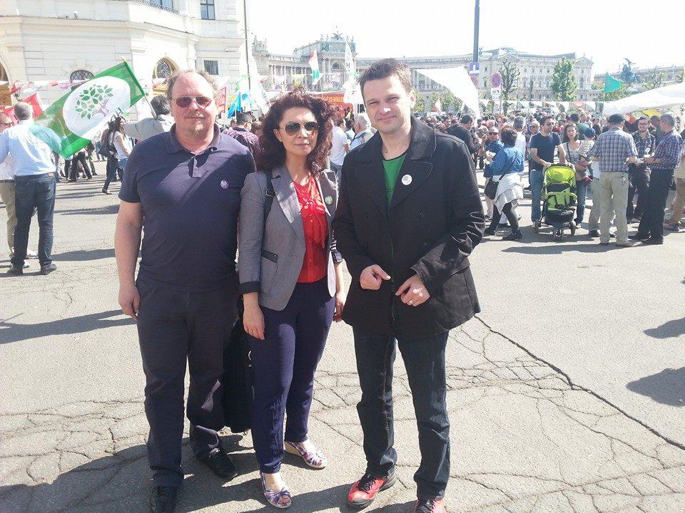 Solidaritätsbesuch auf der Veranstaltung der HDP 25.4.2015