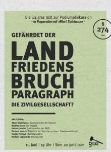 Landfriedensbruch